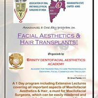 Facial aesthetics and hair translants