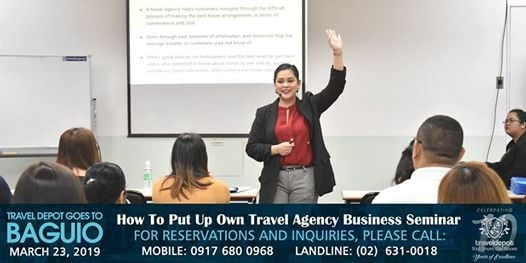 Travel Agency Business Seminar in Baguio