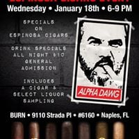 Espinosa Cigar Event