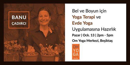 Bel ve Boyun iin Yoga Terapi ve Evde Yoga Uygulamasna Hazrlk
