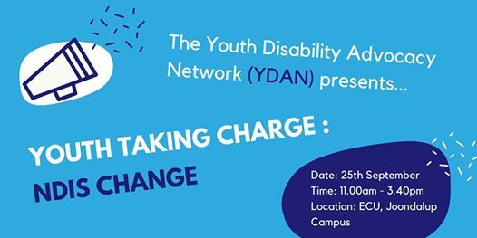 Youth Taking Charge Ndis Change Free Event At Ecu Joondalup