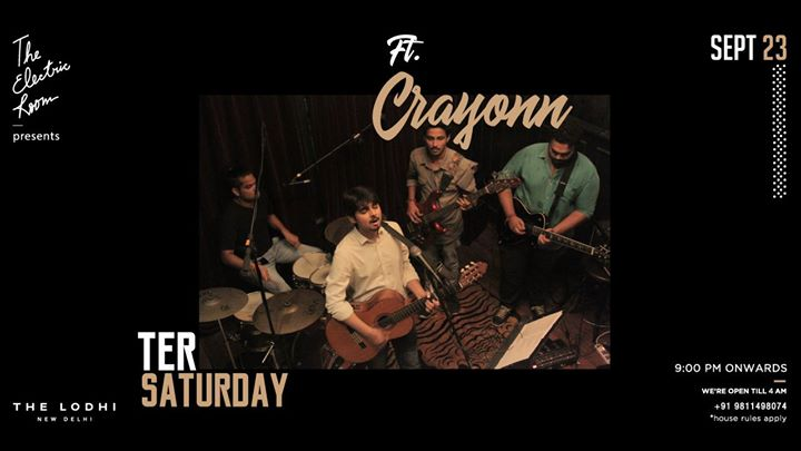 TER Saturday Ft. Crayonn
