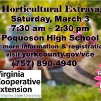 Horticultural Extravaganza