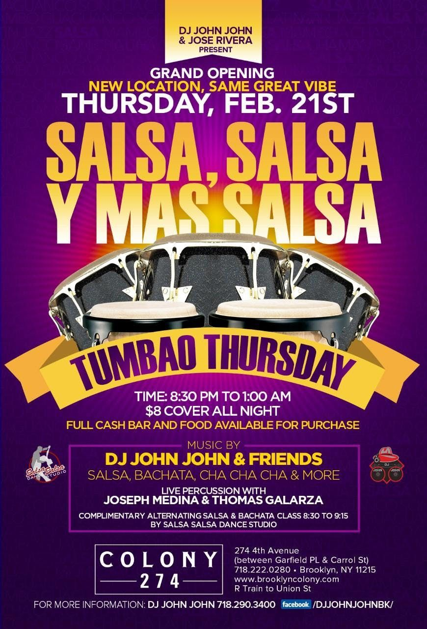 TUMBAO Thursdays at Colony - GRAND Opening