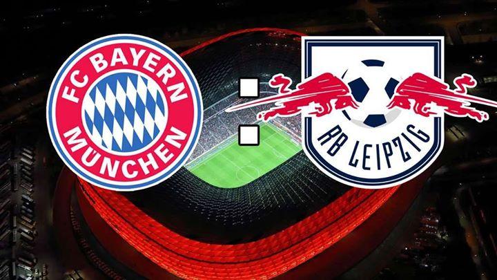 Αποτέλεσμα εικόνας για Bayern Munchen - RasenBallsport Leipzig