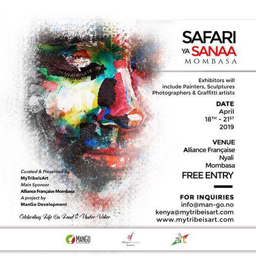 Safari ya Sanaa Mombasa Art Exhibition