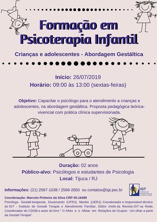 Formao em Psicoterapia Infantil - Uma perspectiva Gestltica