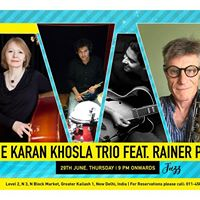 Depot48 Presents The Karan Khosla Trio ft. Rainer Pusch