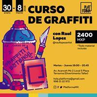 Curso de Graffiti con Ral Lpez