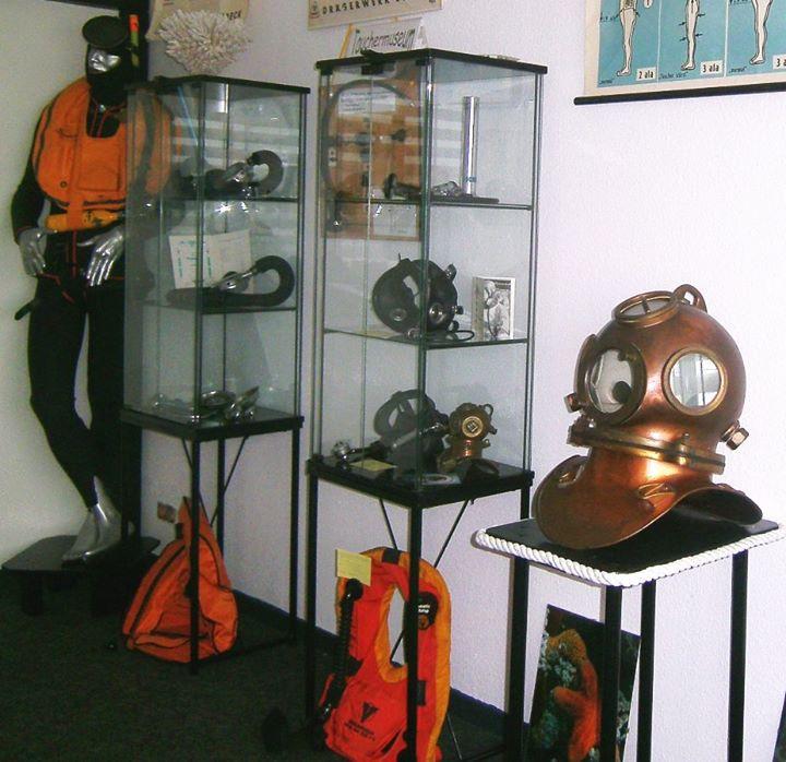 Erffnung des Kleinen Tauchermuseums