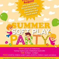 The Summer Soft Play Party