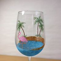 Shoeless Joes Milton &quotWine Glass Painting&quot
