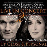 Marina Prior and David Hobson