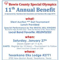 11th Annual Bowie County Special Olympics Benefit
