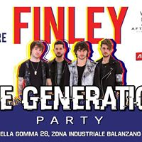 The Generation Party - Special Guest Finley