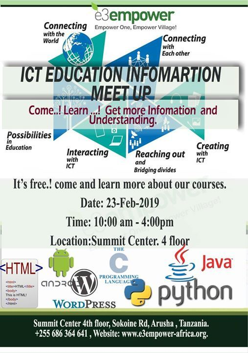 ICT Education Infomation Meet Up