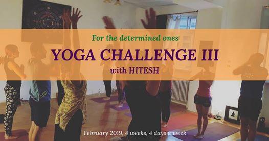 Yoga Challenge III with Hitesh
