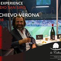 AC Milan vs AC Chievo Verona  Food &amp Wine Experience San Siro