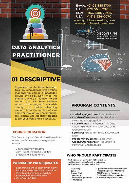 Data Analytics Practitioner - Level 1 Descriptive - 4th intake