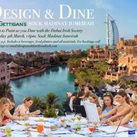 Design &amp Dine with DIS at Madinat Jumeirah