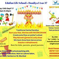 Dandiya Utsav &amp Ravan Dahan For Kids Parents N Grand Parents