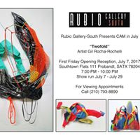 Opening Exhibition &quotTwofold&quot  Artist Gil Rocha-Rochelli