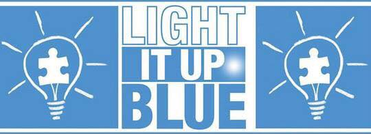 Elegant GCSA, Pier Park And Autism Speaks U201cLight It Up Blueu201d Awesome Design