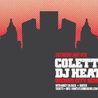 Colette &amp DJ Heather - Second City Sessions Tour 2017