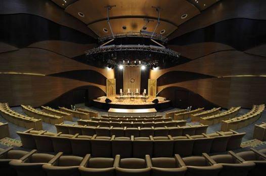 Piano recital in Baku (Azerbaijan)