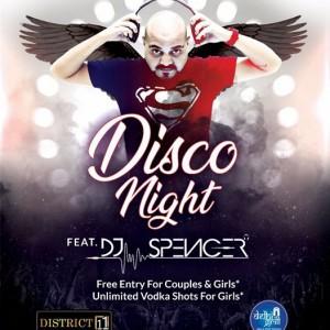 Disco Night Feat. DJ SPENCER
