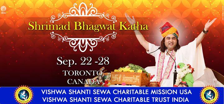Shrimad Bhagwat Katha - Canada