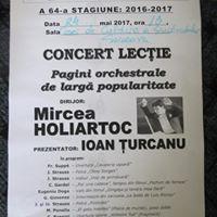 Concert lecie - Filarmonica Botoani