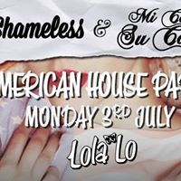 American House Party  1.50 Drinks  Lola Lo 30717