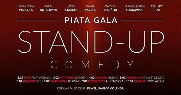 Katowice - (Jubileuszowa) 5 Gala Stand-up Comedy