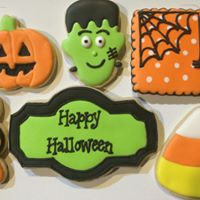Halloween Cookie Decorating Class-50