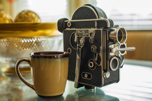 Coffee w Film Cameras