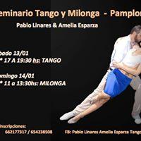 Seminario Tango y Milonga - Pamplona