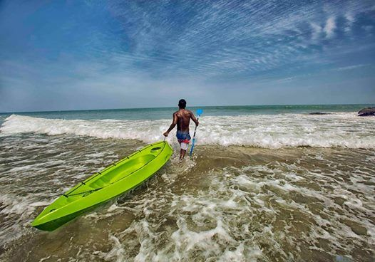 Weekend Beach Camping & Sea Kayaking