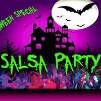 SALSA Social Dancing - Halloween Special