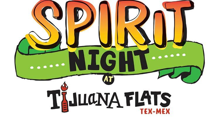 Tijuana Flats Spirit Night Tampa