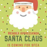Meet and Greet with Santa SFEA Member Appreciation