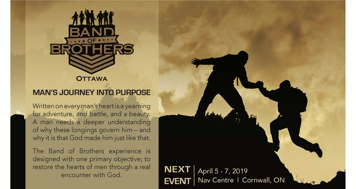 Ottawa Band of Brothers Boot Camp - Spring 2019