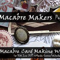 Macabre Card Making Workshop