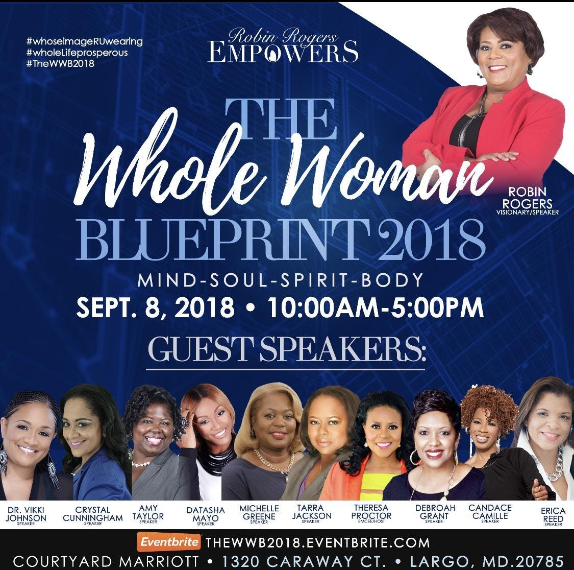The whole woman blueprint 2018 at courtyard marriott largo the whole woman blueprint 2018 malvernweather Images