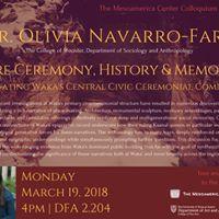 March Colloquium Dr. Olivia Navarro-Farr