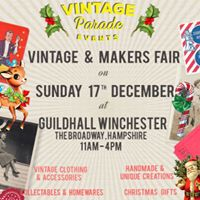 The Vintage Parade  Vintage &amp Makers Its Christmas Fair