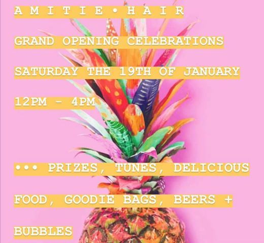 Amitie Hair and Beauty opening party