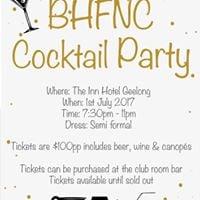 BHFNC Cocktail Party
