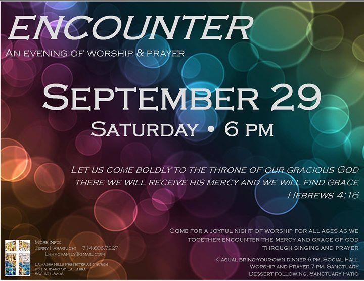 Encounter Family Worship Night
