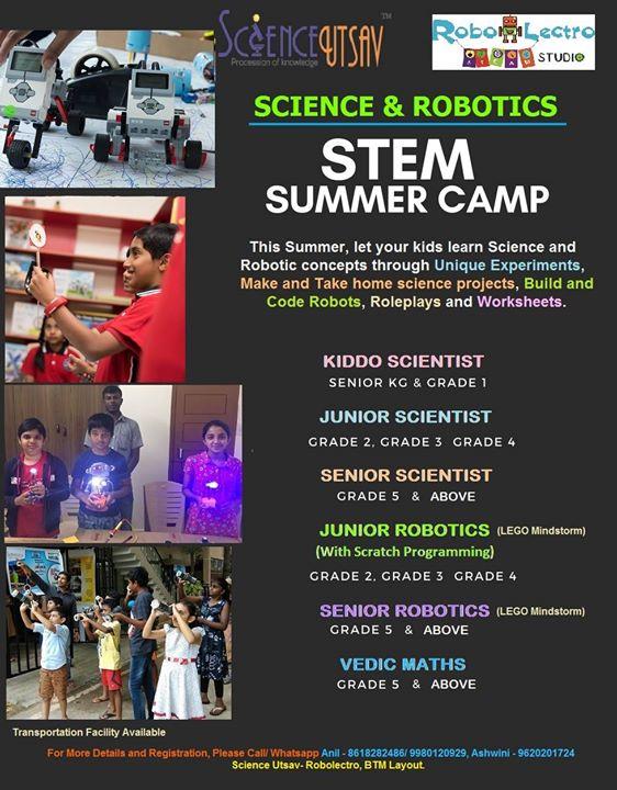 Science & Robotics Summer Camp